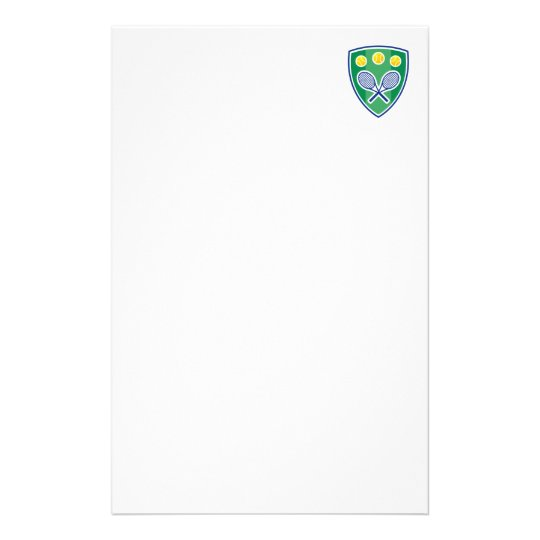 Beautiful Tennis Stationery and Letterheads