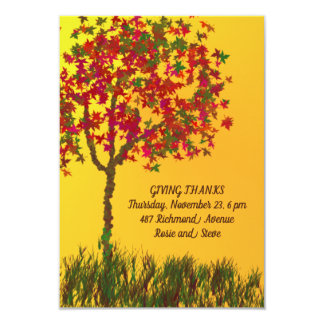 BEAUTIFUL THANKSGIVING DAY INVITATION FOR DINNER