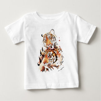 Beautiful tigers, big cats baby T-Shirt