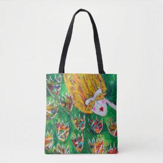 Beautiful tote bag 'Flower Dazzle'