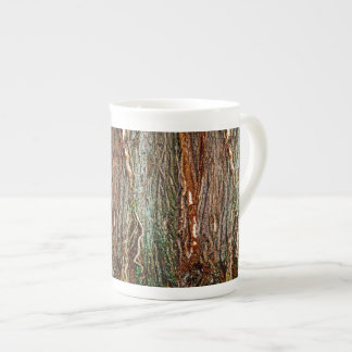 Beautiful Tree Bark Texture Bone China Mug