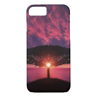 Beautiful tree colorful nature scenery iPhone 7 case