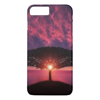Beautiful tree colorful nature scenery iPhone 7 plus case