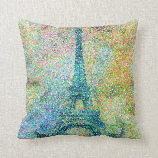 Beautiful trendy girly vintage Eiffel Tower Cushion