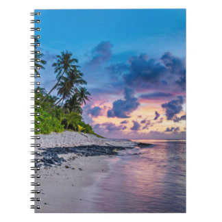 Beautiful Tropical Beach Bliss Notebook