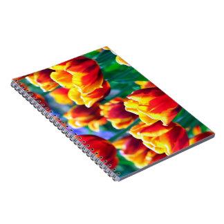 Beautiful Tulip Notebook