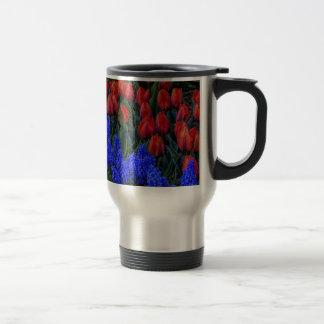 Beautiful Tulip Spring Flowers Photo Coffee Mugs