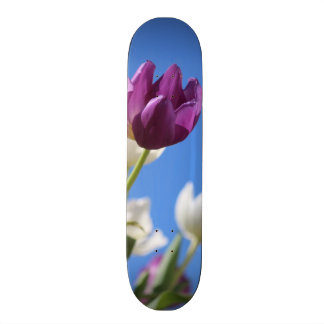 Beautiful Tulips Skate Board Deck