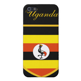 Beautiful Uganda Flag iPhone 5/5S Covers