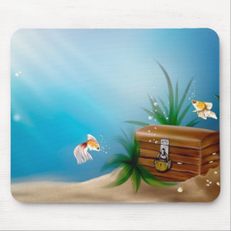 Beautiful Underwater View Mouse Pad