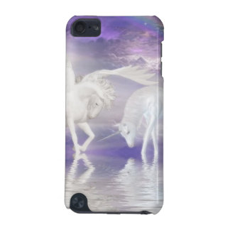 Beautiful Unicorn and Pegasus Fantasy iPod Touch (5th Generation) Cases