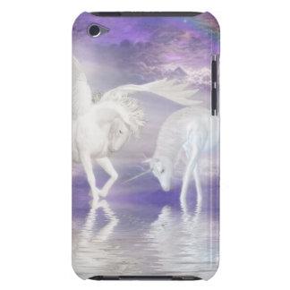 Beautiful Unicorn and Pegasus Fantasy iPod Touch Cover