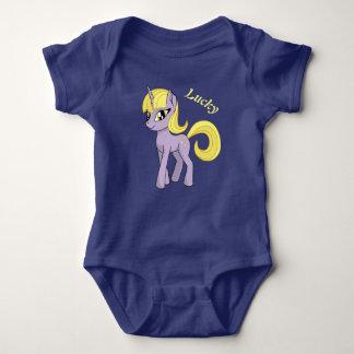 Beautiful Unicorn Baby Bodysuit