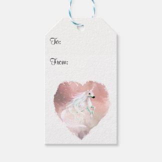 Beautiful Unicorn Gift Tags