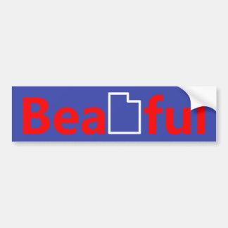 Beautiful Utah Bumper Sticker