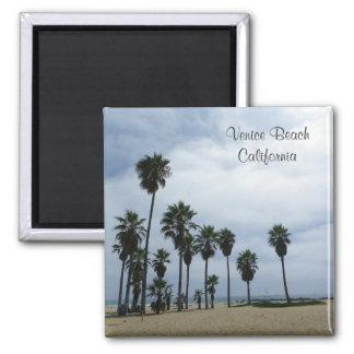 Beautiful Venice Beach Magnet! Square Magnet