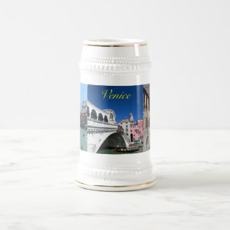 Beautiful Venice, Rialto Bridge Beer Stein