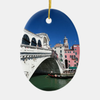 Beautiful Venice, Rialto Bridge Christmas Ornament