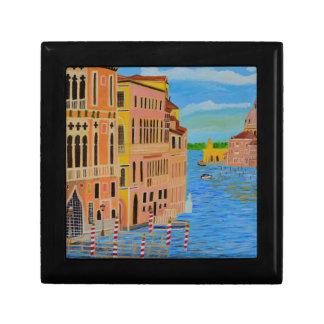 Beautiful Venice Small Square Gift Box