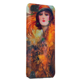Beautiful Vibrant Vintage Classy Woman iPod Touch 5G Case