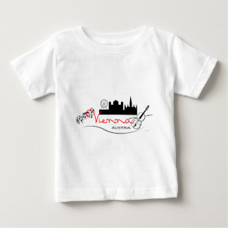 Beautiful Vienna, Austria Baby T-Shirt