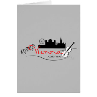 Beautiful Vienna, Austria Card
