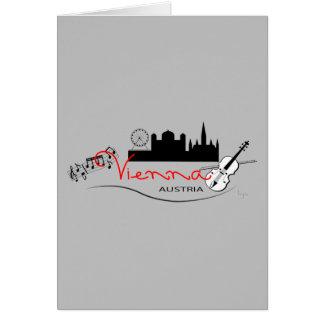 Beautiful Vienna, Austria Greeting Card