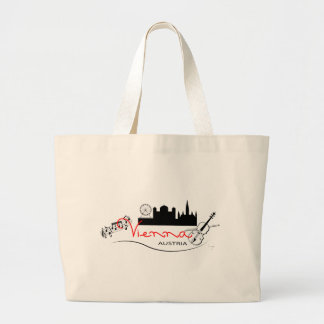 Beautiful Vienna, Austria Large Tote Bag