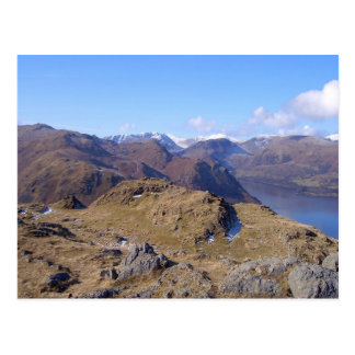 Beautiful view from Hallin Fell Cumbria Postcard