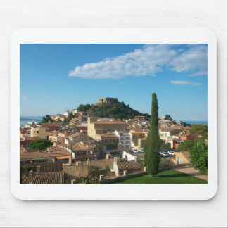 Beautiful view in Begur Spain Mousepad