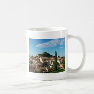 Beautiful view in Begur Spain Coffee Mugs
