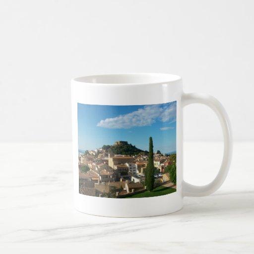 Beautiful view in Begur, Spain Coffee Mugs