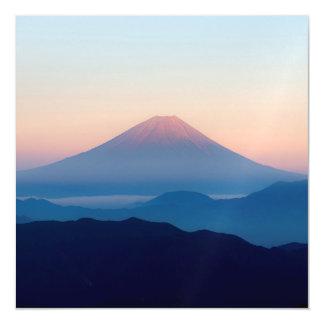 Beautiful view Mt. Fuji, Japan, Sunrise Magnetic Invitations