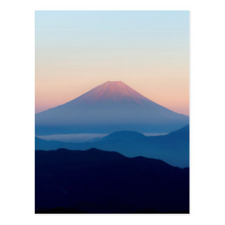 Beautiful view Mt. Fuji, Japan, Sunrise Postcard