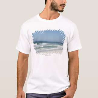 Beautiful view of beach against clear sky 2 T-Shirt
