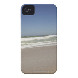Beautiful view of beach against clear sky 3 Case-Mate iPhone 4 cases
