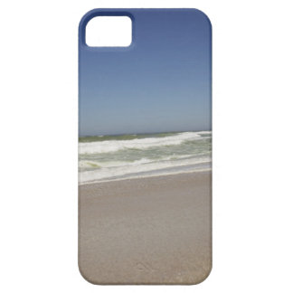 Beautiful view of beach against clear sky 3 iPhone 5 cases