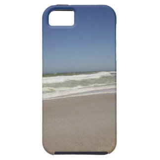 Beautiful view of beach against clear sky 3 iPhone 5 covers