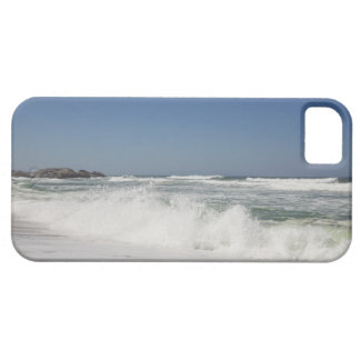 Beautiful view of beach against clear sky iPhone 5 covers
