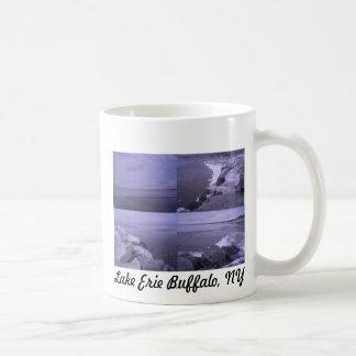 Beautiful view of Lake Erie Basic White Mug