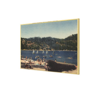 Beautiful View of Strawberry Lake Canvas Print