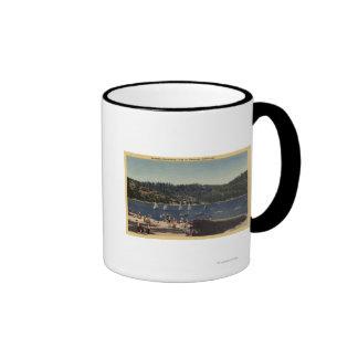 Beautiful View of Strawberry Lake Coffee Mugs