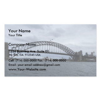 Beautiful View Of The Bridge In Sydney Australia Business Card