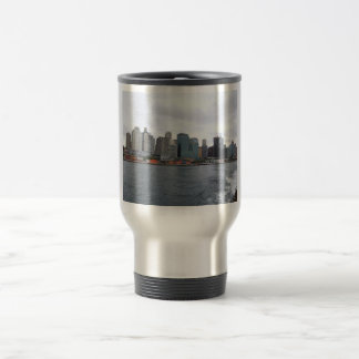 Beautiful View Of The City With High Buildings Acr Mugs