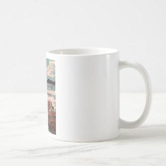Beautiful view of the sea basic white mug