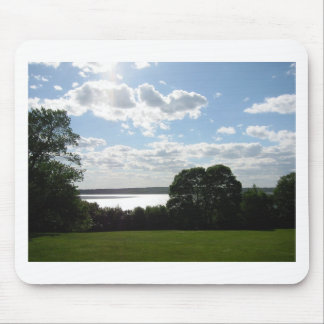 Beautiful view of the sky & water in Newport Mouse Pad