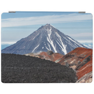 Beautiful view of volcano landscape iPad cover