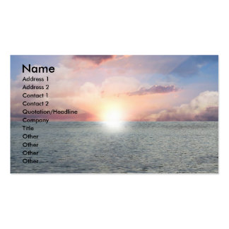 Beautiful View Pack Of Standard Business Cards