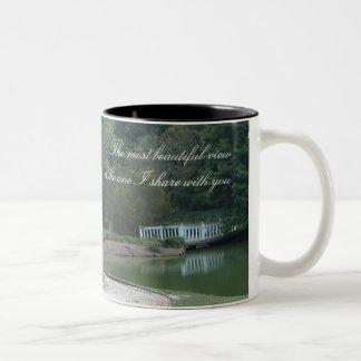 Beautiful View Two-Tone Mug