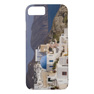 Beautiful village of Oia with white buildings iPhone 8/7 Case